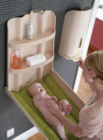 presvlačenje bebe
