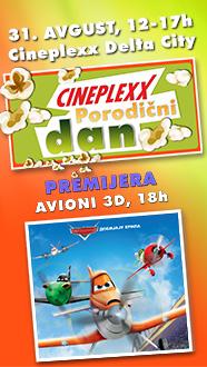 Porodični dan 31.avgust Cineplexx Delta City