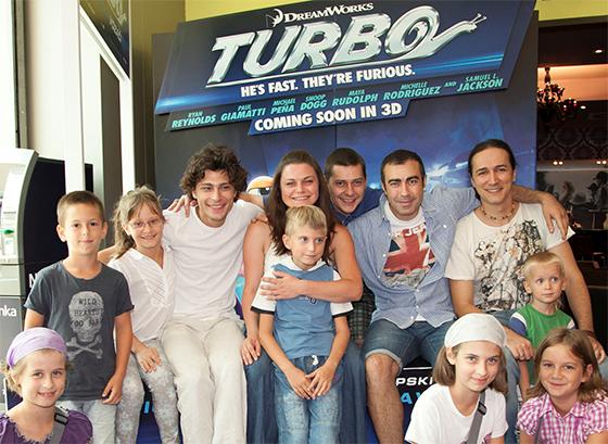 Turbo 3D dojurio u bioskope