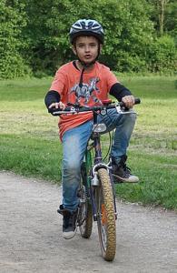 Kako naučiti dete da vozi bicikl