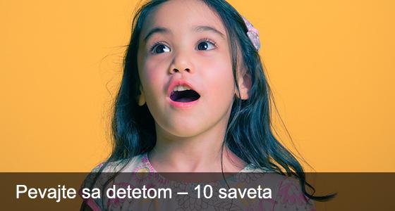 Pevajte sa detetom