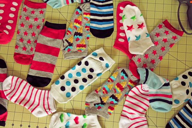 Zmija od starih čarapa
