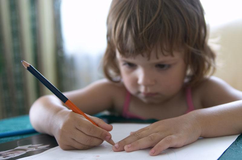 Dete treba da ume pravilno da drži olovku