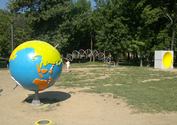 Ada Ciganlija - Park nauke - globus