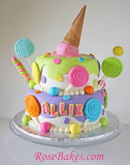 Rođendanske torte sladoled