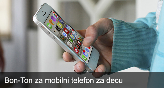 Bon-Ton za mobilni telefon za decu