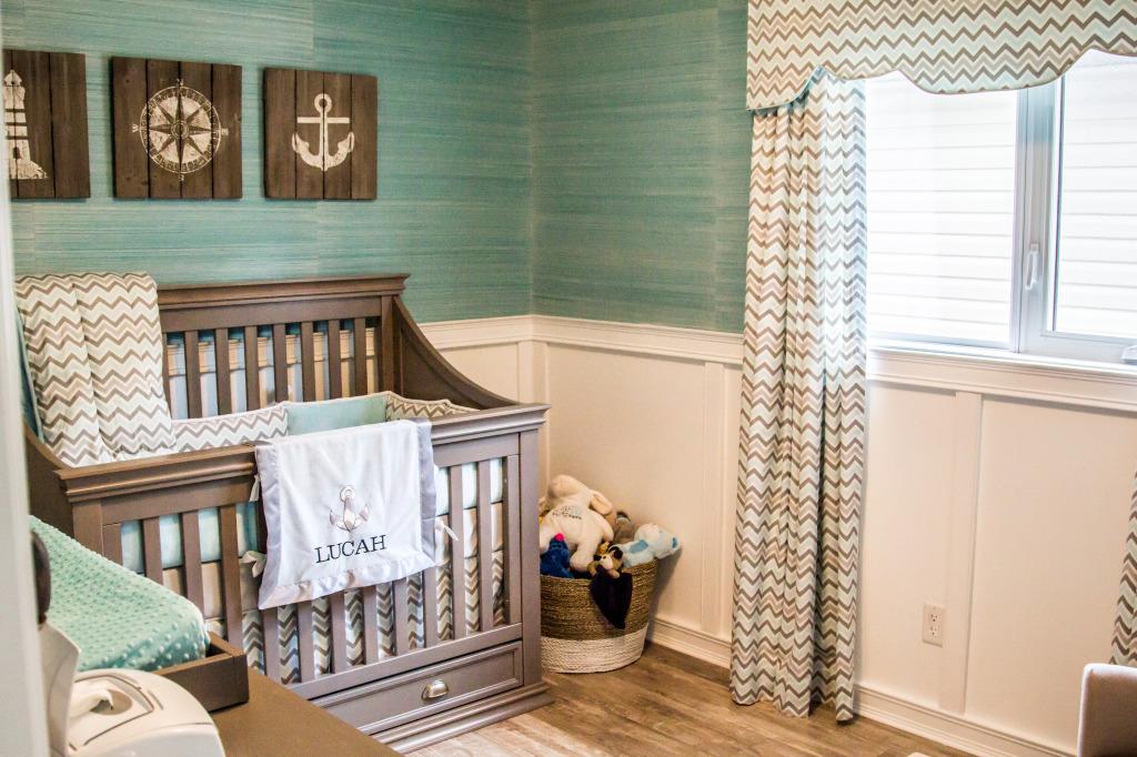 Soba za bebu tirkizna