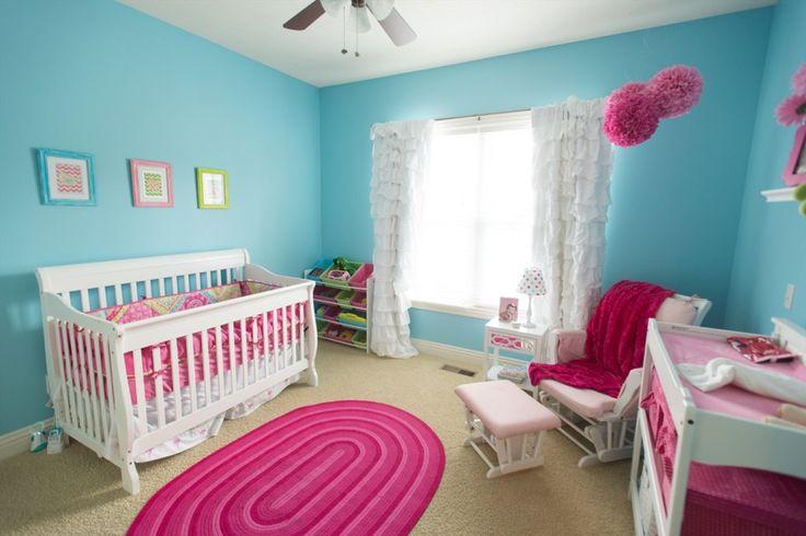 Soba za bebu tirkizno