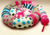 Zmija od rasparenih čarapa